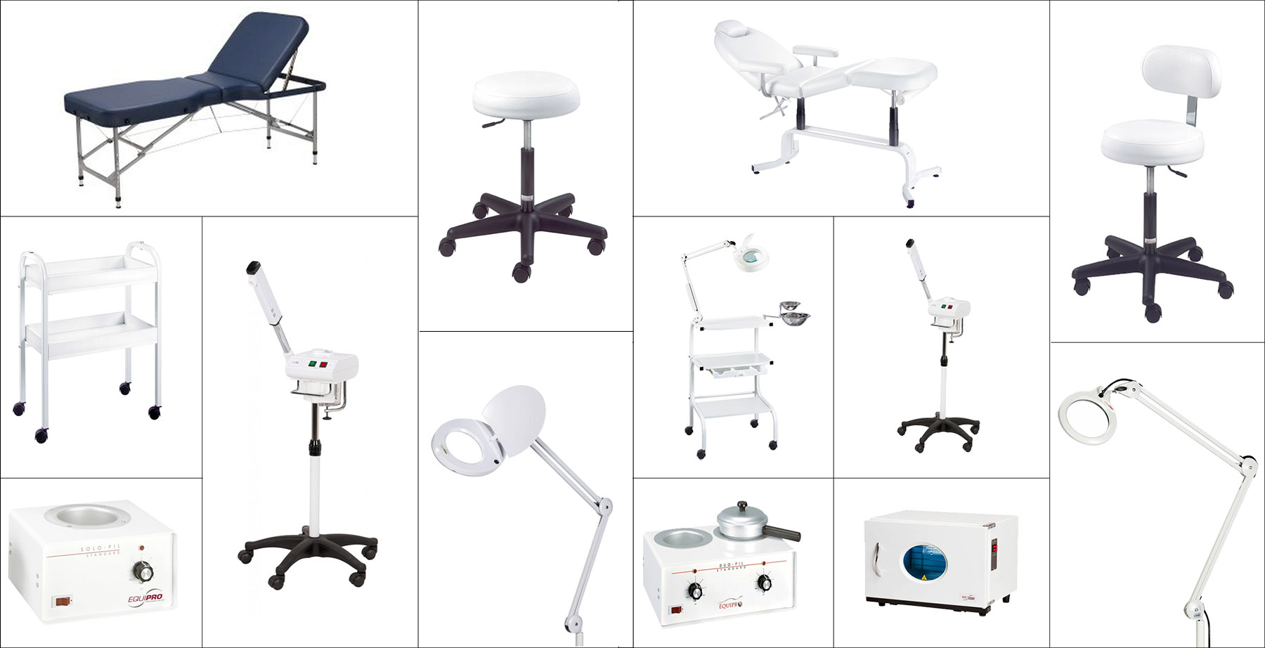 esthetician equipment checklist